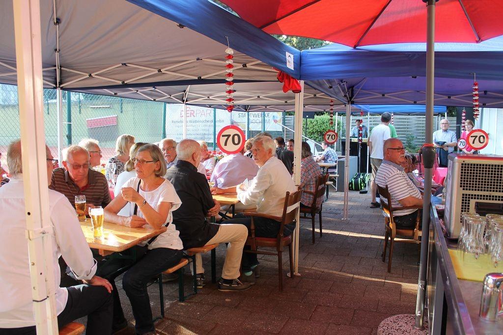 Sommer- und Jubiläumsfest zum 70-jährigen Bestehen des TC RW Wattenscheid